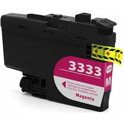 Brother LC-3333 Magenta- 1,500 pages  **Compatible**