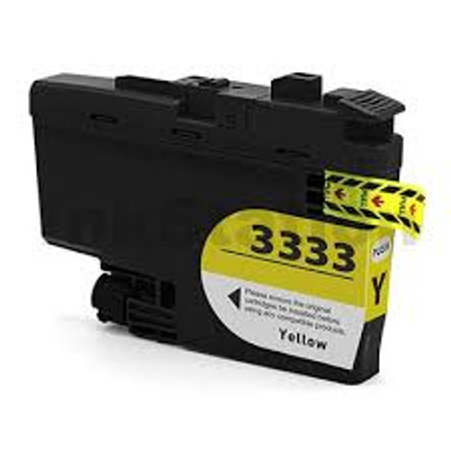 Brother LC-3333 Yellow- 1,500 pages  **Compatible**