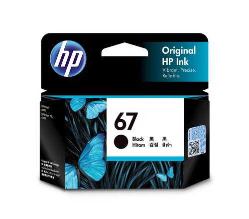 HP No.67 Black Ink 3YM56AA - 120 pages