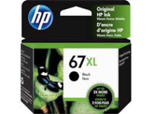 HP #67XL Black Ink 3YM57AA - 240 pages