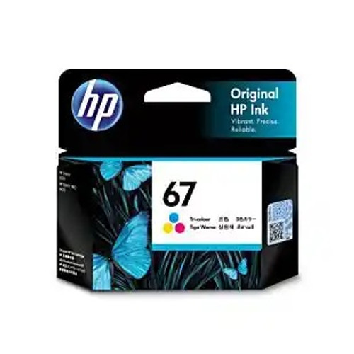 HP No.67 Tri Colour Ink 3YM55AA - 100 pages
