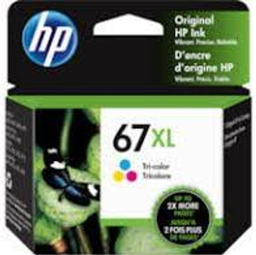 HP #67XL Tri Colour Ink 3YM58AA - 200 pages