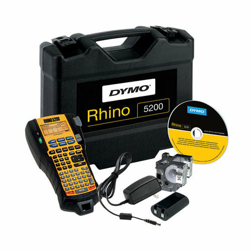 Dymo Rhino 5200 Label maker Industrial Kit with Hard Case