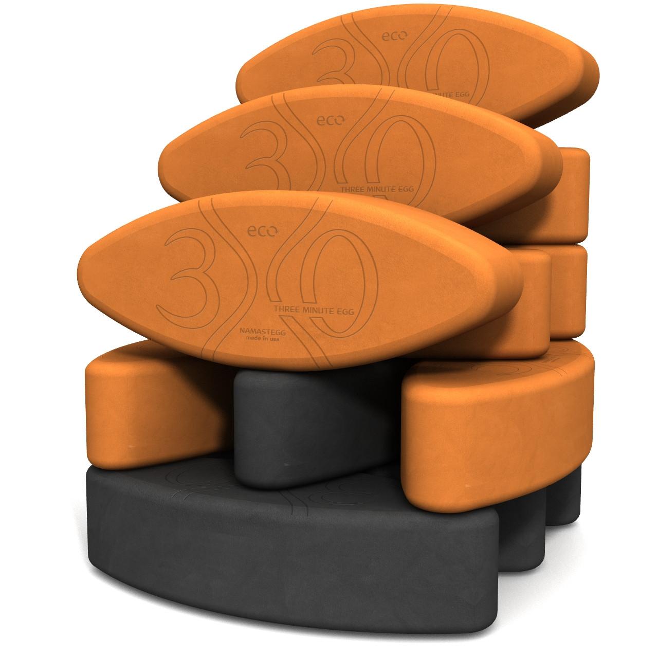 Biodegradable foam yoga block set Teacher s Dozen Yin Yang ECO by Three  Minute Egg in color 648ef1f4956b