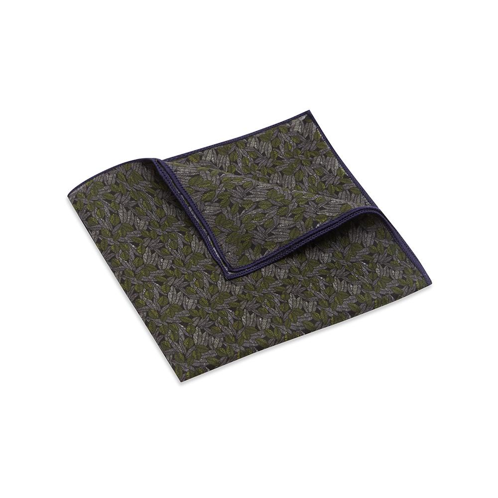 Pocket Square, Jocelyn Proust 2, Olive.