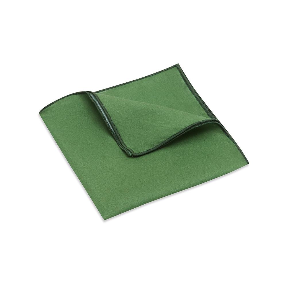 Pocket Square, Plain, Sage
