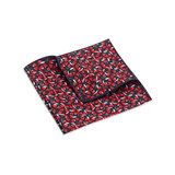 Pocket Square, Jocelyn Proust 1, Red/Navy.