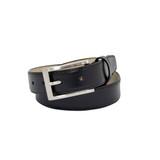 """Brando"", 30mm, Men's Monogrammed Leather Belt"