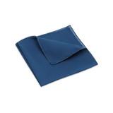 Pocket Square, Plain, Mineral Blue