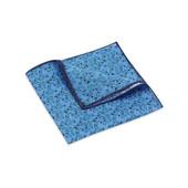 Pocket Square, Jocelyn Proust 2, Navy/Blue.