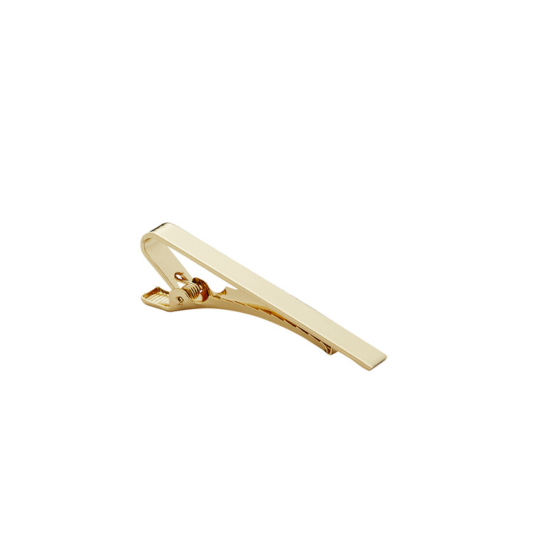 Tie Bar - Polished Gold