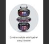 (2) Chauvet DJ Derby X Moonflower LED Effect Light Package