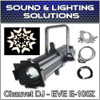 Chauvet DJ EVE E-100Z 100W LED Warm White Gobo Projector Spot  Package