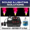 Chauvet DJ Geyser P7 Fog Machine (RGBA+UV) LED Pyro Effects, Remote & Fluid Pkg