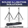 ADJ American DJ Accu-Stand SPSX2B Speaker Stand w/Carry Bag (Pair)