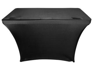 Odyssey SPATBL4BLK  4 FT Black Table Scrim