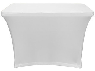 Odyssey SPATBL4WHT 4 FT White Table Scrim