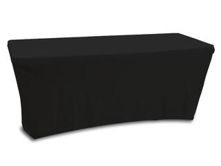 Odyssey SPATBL6BLK 6FT Black Table Scrim