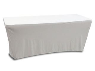 Odyssey SPATBL6WHT 6FT White Table Scrim