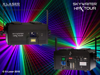 X-Laser Skywriter HPX Tour