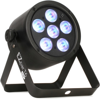 EZpar T6 USB battery-operated, tri-color RGB LED wash light