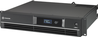Dynacord L3600FD-US DSP power amplifier 2x1800W. With FIR drive