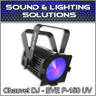Chauvet DJ EVE P-150 UV DMX Black Light Cannon w/ 40 Blacklight UV LED