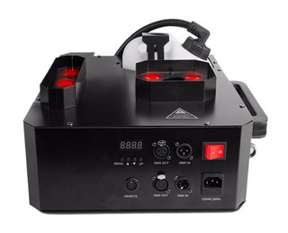 Chauvet DJ Geyser P7 Fog Machine (RGBA+UV) LED Pyro Effects, Remote & Fluid Pkg