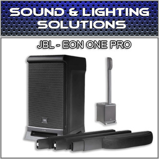 JBL EON ONE PRO All-In-One Rechargeable 7-Channel Linear Array PA System