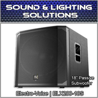 "Electro-Voice ELX200-18S Passive 18"" Subwoofer ELX200-18S"
