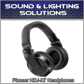 Pioneer HDJ-X7 Professional Over-Ear DJ Headphones w/ Detachable Cables (Black) (HDJ-X7K)