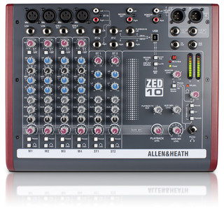 Allen & Heath ZED-10 -  Compact Mixer