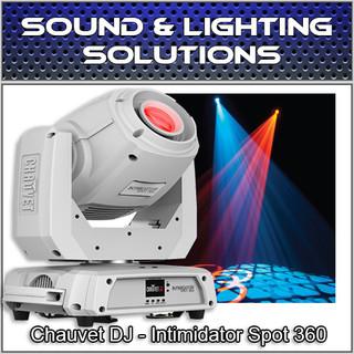 Chauvet DJ Intimidator Spot 360 100W Dual Prism Moving Head (White)