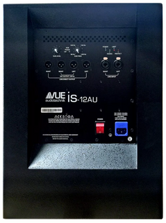 Vue Audiotechnik I CLASS IS-12AU Single 12-inch Powered Subwoofer 400w/integrated amp