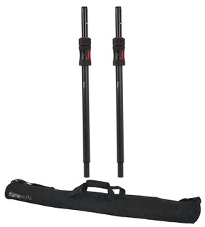 GFW-ID-SPKRSET Gator Cases Frameworks ID Series Adjustable Subwoofer Poles with Carrying Bag