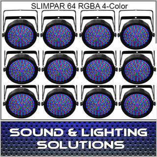 Chauvet DJ Slim Par 64 RGBA 12 Pack