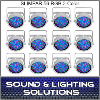Chauvet DJ Slim par 56 White 12 Pack