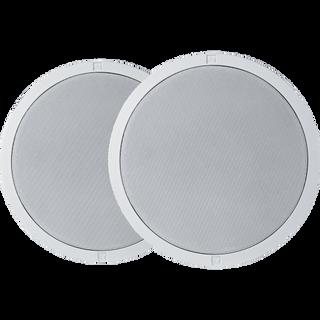 """Electro-Voice EVID-C4.2LP Ceiling speaker 4"""" low profile white ( 1 Pair )"""