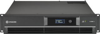 Dynacord C1300FDi-US DSP 2 x 650 W Power Amplifier for fixed install applications