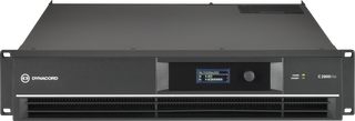 Dynacord C2800FDi-US DSP 2 x 1400 W Power Amplifier for fixed install applications