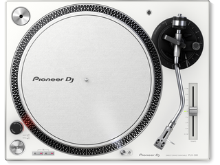 Pioneer PLX-500-W Share High-torque, direct drive turntable (white)