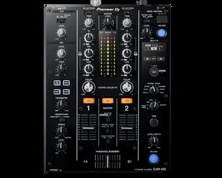 Pioneer DJM-450 Compact 2-channel DJ mixer (DJM-450)
