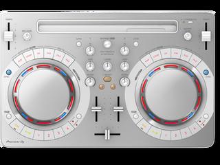 PIONEER DJ DDJ-WEGO4-W Share Compact DJ software controller (White) (DDJ-WEGO4-W)