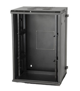 GRW2009509 9U, 21″ Deep Sectional Wall Rack, Glass Door (GRW2009509)