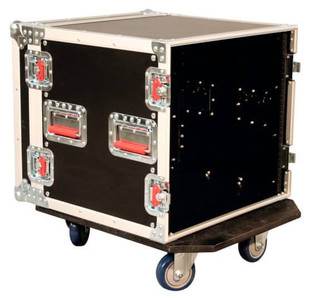 G-TOUR 10U CAST 10U, Standard Road Rack w/ Casters Flight Box (G-TOUR 10U CAST)