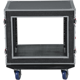 G-TOUR SHK8 CAS 8U Shock Road Rack Case w/ Casters Flight Box (G-TOUR SHK8)