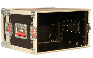 G-TOUR EFX6 6U, Shallow Road Rack Case Flight Box (G-TOUR EFX6)