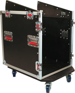 G-TOUR-GRC12X12 12U Top, 12U Side Road Console Rack Flight Combo Rack (G-TOUR-GRC12X12)