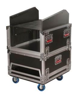 G-TOUR-GRC-1406 14U Top, 6U Side Road Console Rack Flight Box (G-TOUR-GRC-1406)