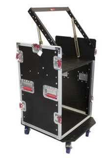 G-TOUR 10X12 PU 10U Top, 12U Side Road Rack Case Flight Box (G-TOUR 10X12 PU)